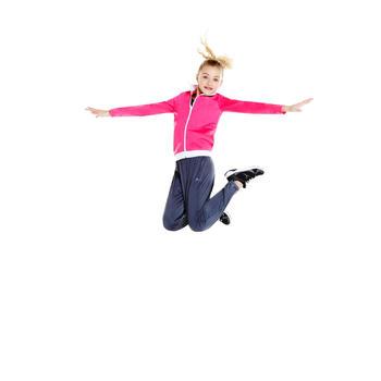 Survêtement chaud zippé Gym Energy fille Gym'y - 956735