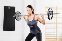 Figuurvormende fitnesstop Shape+ voor dames - 956740