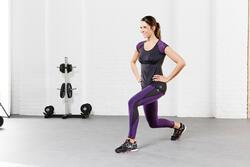 Figuurcorrigerend fitness T-shirt Shape+ voor dames - 956762