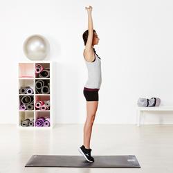 Topje voor gym & pilates dames gemêleerd - 956775
