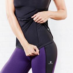 Figuurcorrigerend fitness T-shirt Shape+ voor dames - 956799