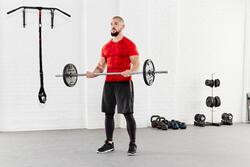 T-shirt Fitness Muscle voor heren - 956803