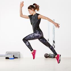 Wijd fitness T-shirt Energy voor dames - 956806