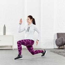 Dameslegging Fit+ voor gym en pilates, slim fit - 956816