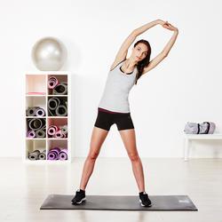 Topje voor gym & pilates dames gemêleerd - 956819