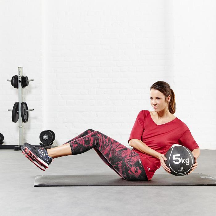 Leggings 7/8 efecto vientre plano fitness mujer negro SHAPE