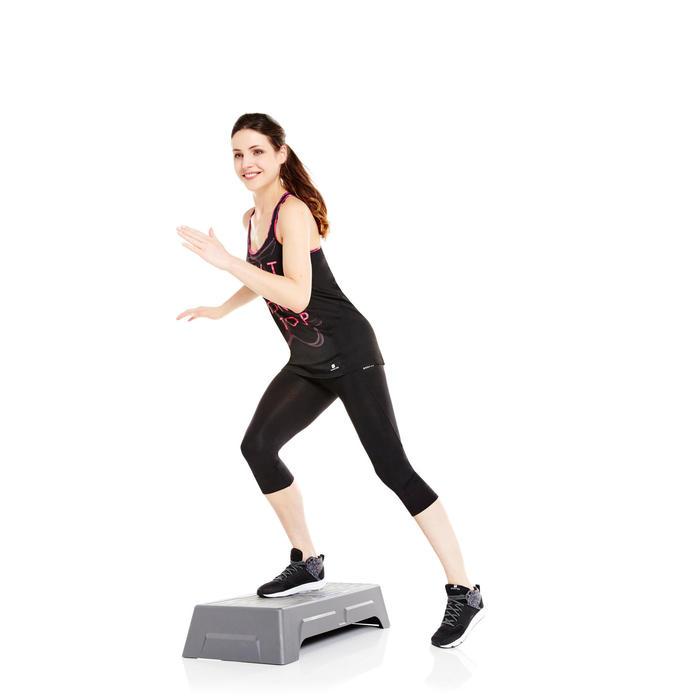 Débardeur Breathe Long printé fitness femme - 956839