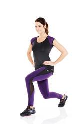 Figuurcorrigerend fitness T-shirt Shape+ voor dames - 956846