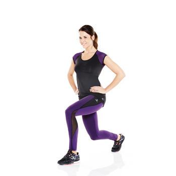 Legging galbant SHAPE fitness femme violet et - 956846