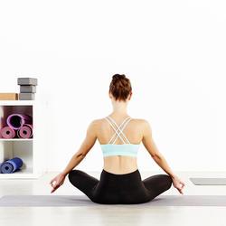 Naadloos T-shirt Yoga+ met lange mouwen voor dames - 956851