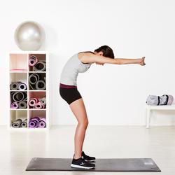 Topje voor gym & pilates dames gemêleerd - 956856