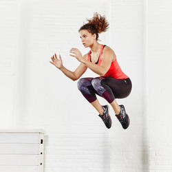 Ademende fitnesslegging 7/8 cardio dames Energy Xtrem - 956868