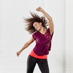 T-shirt fitness Energy loose dames - 956882