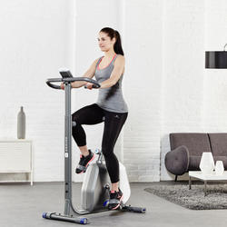 7/8-fitnesslegging Active voor dames, tule - 956885