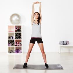 Topje voor gym & pilates dames gemêleerd - 956886