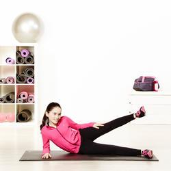Warme gym broek voor meisjes, slim fit - 956905