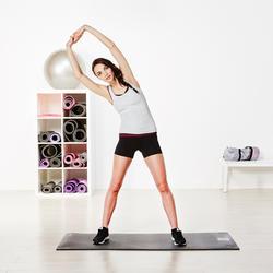 Topje voor gym & pilates dames gemêleerd - 956909