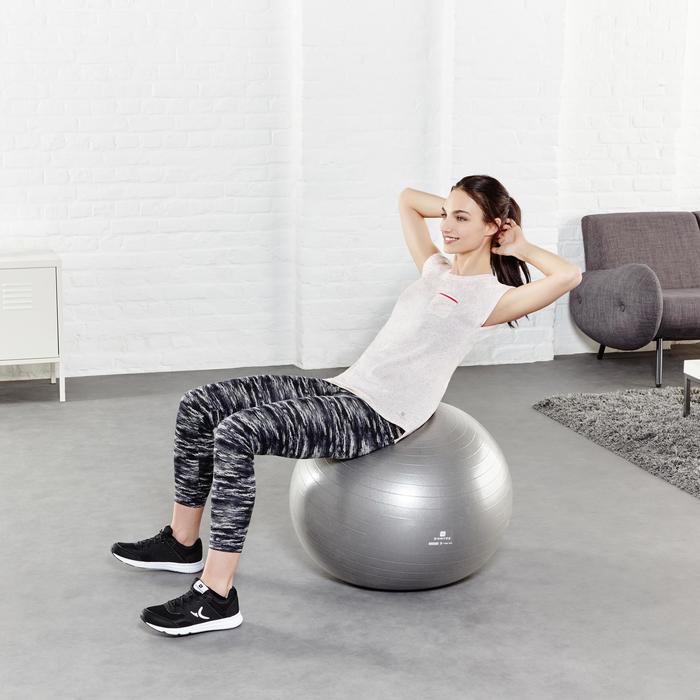 Legging 7/8 FIT+ 500 slim Gym & Pilates femme noir - 956912