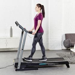 Leggings Fit+500 Slim Gym & Pilates Damen schwarz