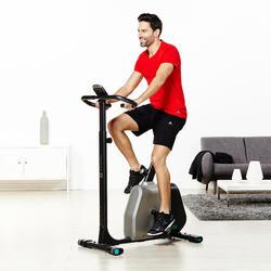 Fitnessshort Active heren donkergrijs - 956964