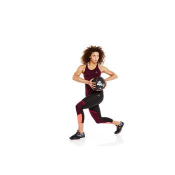 Chaussures fitness cardio 900 femme noir et - 956969