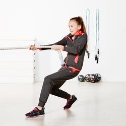 Warme gym broek Energy voor meisjes, slim fit - 956990