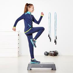 Warme gym broek Energy voor meisjes, slim fit - 956999