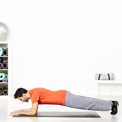 Heren T-shirt voor gym en pilates, regular fit - 957001
