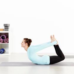 Naadloos T-shirt Yoga+ met lange mouwen voor dames - 957002