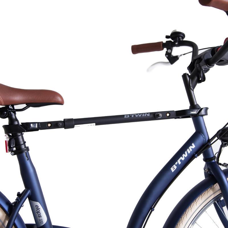 Adaptador de marco de bicicleta para portabicicletas