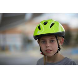 Fahrradhelm 300 Kinder grün