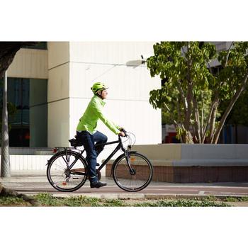 Fahrradhelm City 500 neongelb