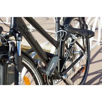 Fahrradschloss Kabelschloss 100 Schlüssel grau