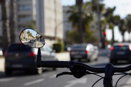 Дзеркало заднього виду 100 для велосипеда
