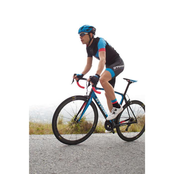 Guantes de ciclismo ROADR AEROFIT 900 NEGRO/AZUL/ROSA