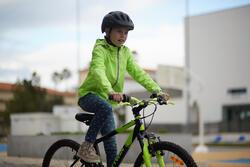 Regenjasje voor de fiets 500 kinderen fluogeel - 959151