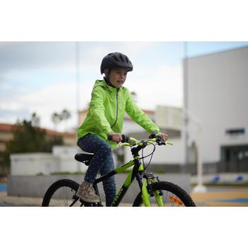 Fahrradjacke City 500 Kinder gelb