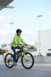 Regenjasje voor de fiets 500 kinderen fluogeel - 959154