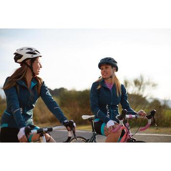 Gants vélo femme ROADC 100 BLANC - 959169