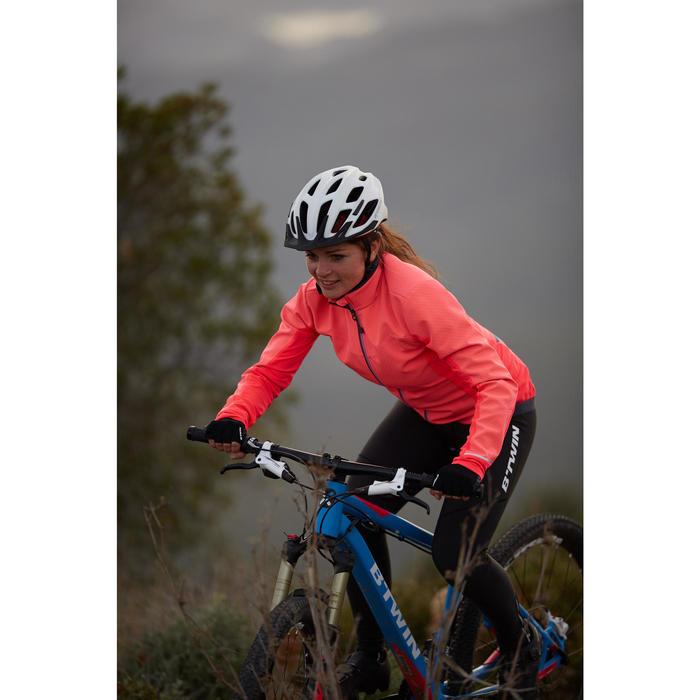 Fahrradjacke 500 Rennrad Damen rosa