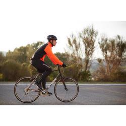 Fahrrad-Winterjacke Rennrad RC 100 Herren schwarz