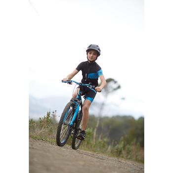 Maillot manches courtes vélo enfant 700 bleu - 960247