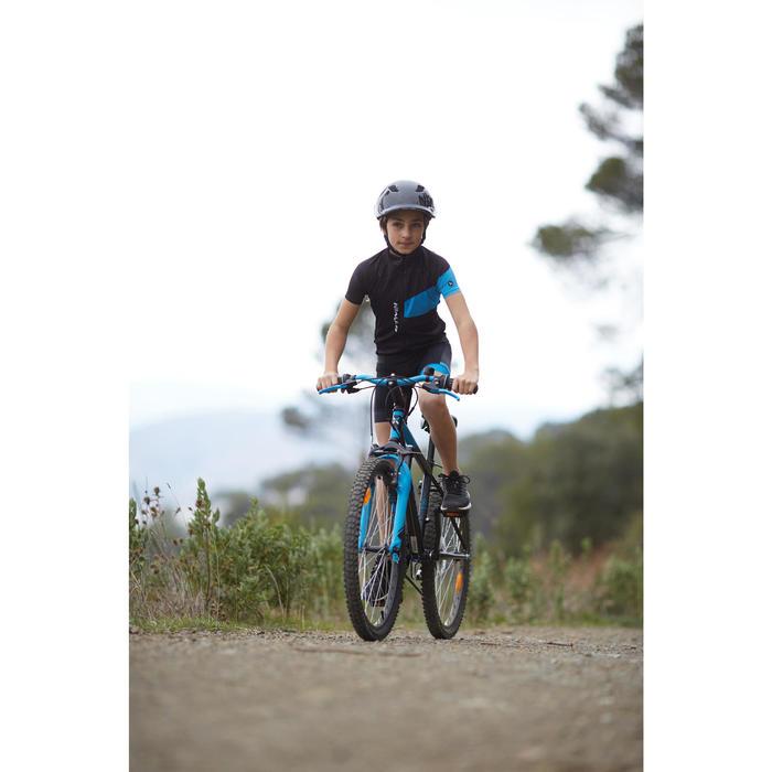 Maillot manches courtes vélo enfant 700 bleu - 960250