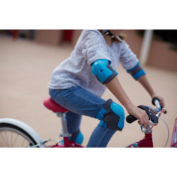 KIT PROTECTION VELO ENFANT XS BLEU