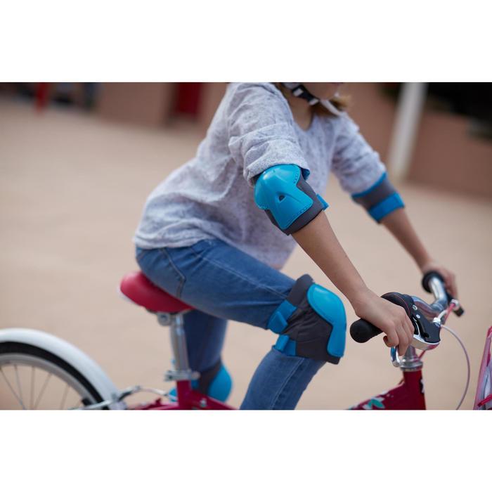 Set fietsbeschermers voor kinderen XS blauw