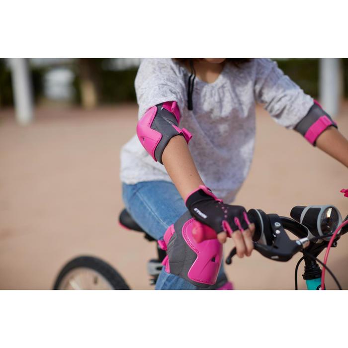 Protektoren Set Fahrrad Kinder XXS rosa