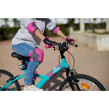 Protektoren-Set Fahrrad XXS Kinder rosa