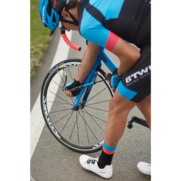 Pompe vélo à main 920 télescopique avec manomètre