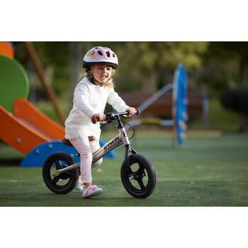 Loopfietsje voor kinderen 10 inch RunRide 520 Cruiser zilver