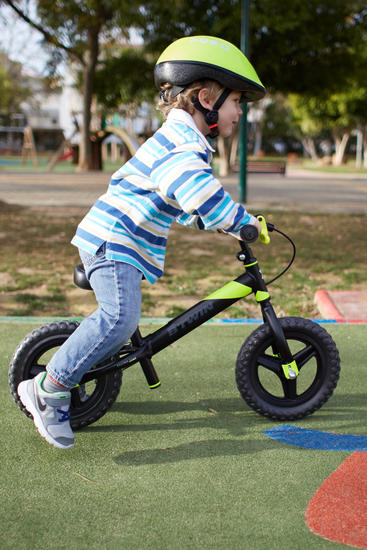 Draisienne enfant 10 pouces Run Ride 520 Noir Jaune VTT